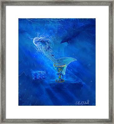 Treasured Cups From Atlantis. Framed Print