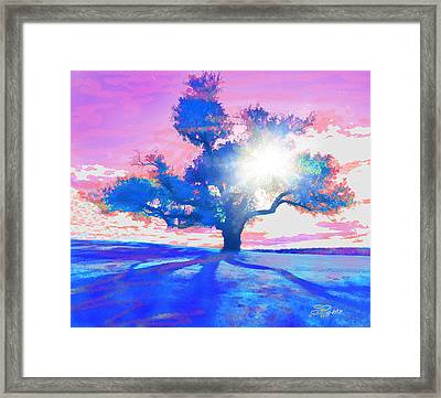 Tree Art 001 Framed Print