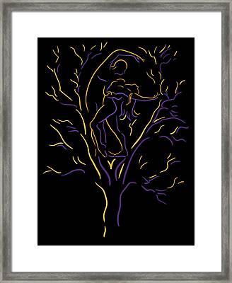 Tree Dancers Framed Print by Shane Robinson