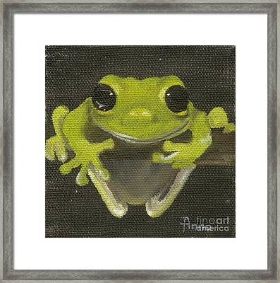 Tree Frog 2 Framed Print