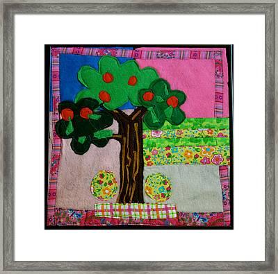 Tree Framed Print by Ghazel Rashid