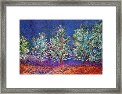 Tree Line Framed Print by Karin Eisermann