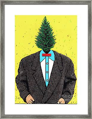 Tree Man Framed Print by Bill Thomson