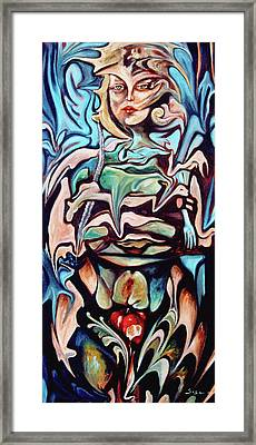 Tree Of Knowledge Of Good And Evil Framed Print by William Sosa