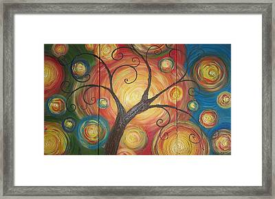 Tree Of Life  Framed Print by Ema Dolinar Lovsin