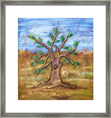 Tree Of Life Framed Print by Junior Polo