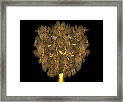 Tree Of Life Framed Print by Ricky Kendall