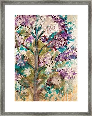 Tree Of My Imagination Framed Print by Anne-Elizabeth Whiteway