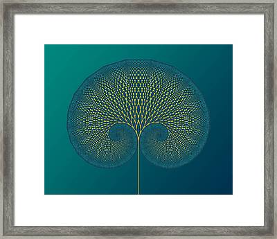 Tree Of Well-being Framed Print