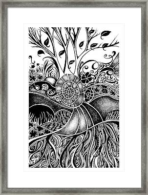 Tree Series 44 Framed Print