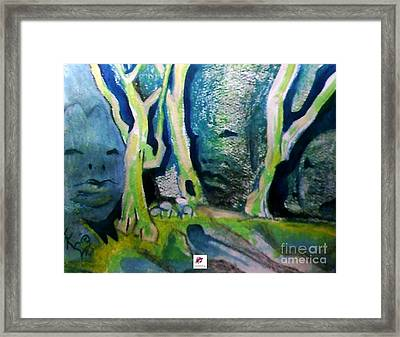 Tree Spirit Study Framed Print