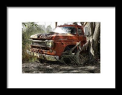 Heavy Duty Truck Framed Prints