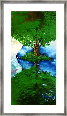 Trees Framed Print by Douglas Martin