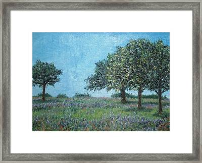 Trees Framed Print by Gizelle Perez
