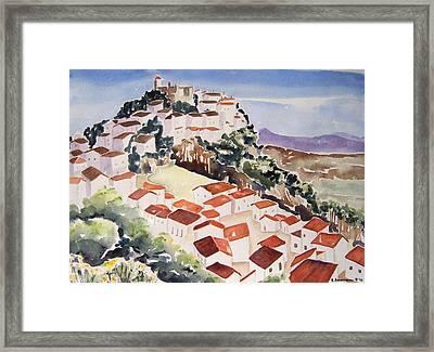Tresorio De San Martin Framed Print by Regina Ammerman