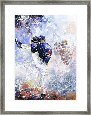 Trevor Saves The Day Framed Print