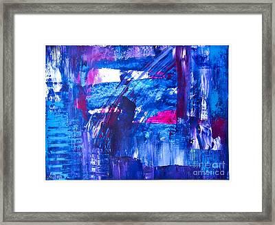 Trevor's World Framed Print by Martina Dresler