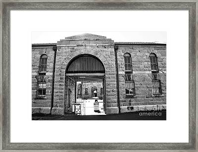 Trial Bay Jail Framed Print by Kaye Menner
