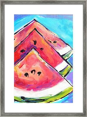 Triangulations Framed Print