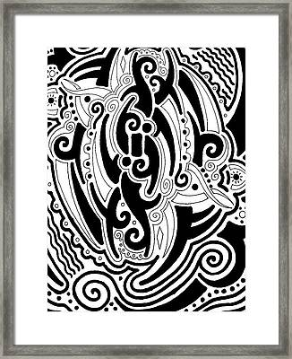 Tribal Framed Print by Andrew Padula