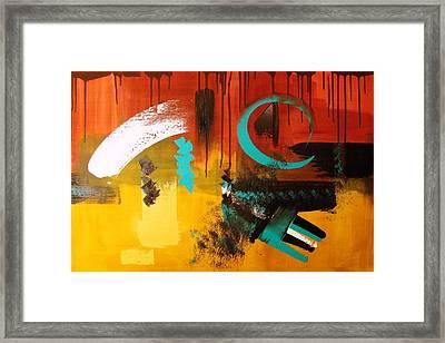 Tribal Balance Framed Print