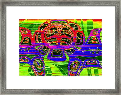 Tribal Council 1 Framed Print