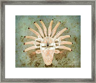 Tribal Mask IIi Framed Print