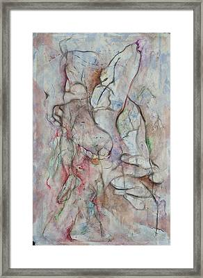 Tribulations Framed Print by David  Beers