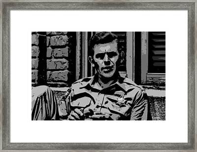 Tribute To Andy Framed Print by George Pedro