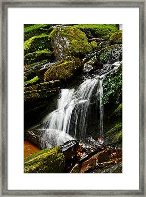 Trickle Trickle Framed Print by Love Photography By Mandy
