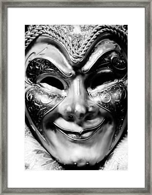Trickster Closeup Framed Print
