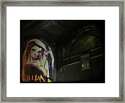 Trillian - Manga Store In Budapest Framed Print by Marianna Mills