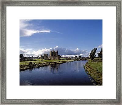 Trim Castle On The River Boyne, County Framed Print