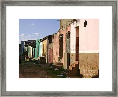 Trinidad Cuba Framed Print by Laurel Fredericks