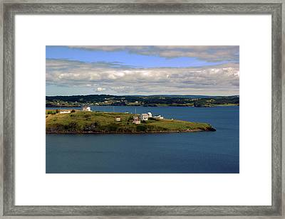 Trinity Bay Framed Print by Leanna Lomanski