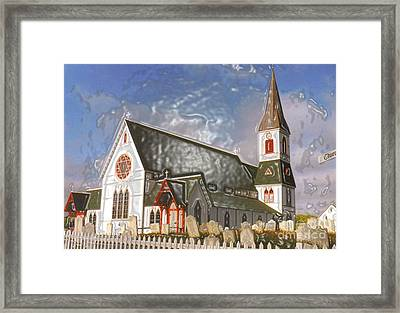 Framed Print featuring the photograph Trinity  by Lydia Holly
