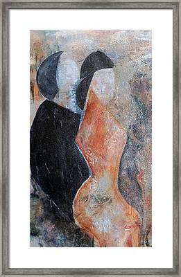 Trio Framed Print by Phyllis Coniglio