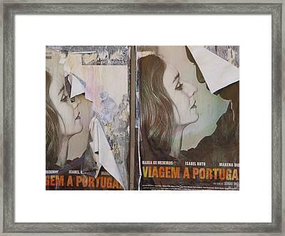Trip To Portugal Framed Print by Alexis Shields