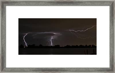 Triple Threat Framed Print by Alexander Spahn