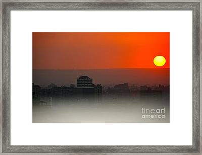 Framed Print featuring the photograph Tripoli Harbor 2010 by Joan McArthur