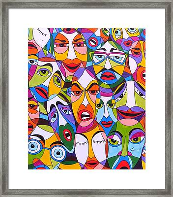 Tristes Framed Print by Mario Fresco