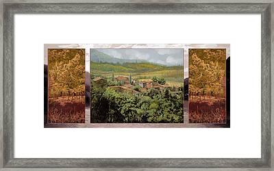 Trittico-il Prossimo Autunno Framed Print
