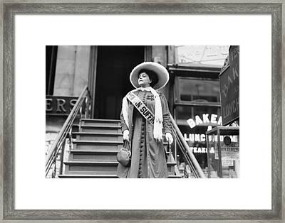 Trixie Friganza 1870 – 1955, Vaudeville Framed Print by Everett