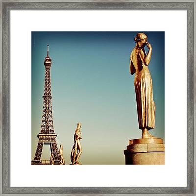 Trocadero, Paris Framed Print by Image - Natasha Maiolo