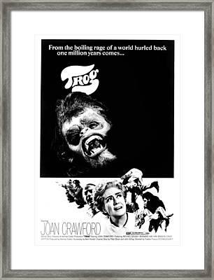 Trog, Joe Cornelius, Joan Crawford, 1970 Framed Print by Everett