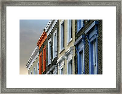 Trois Couleurs Camden Framed Print by Michael Reeve