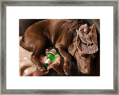 Trooper Framed Print by Luba Citrin