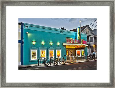 Tropic Cinema Framed Print