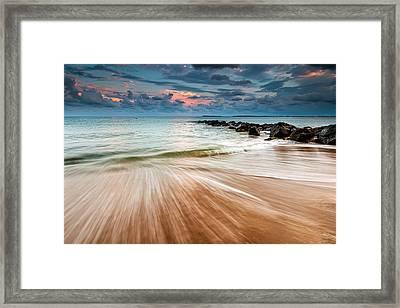 Tropic Sky Framed Print