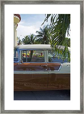 Tropical Chevy Framed Print by Cheri Randolph